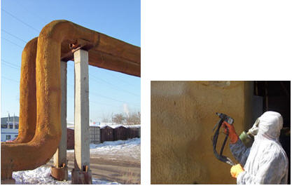 Order Thermal insulation of pipelines polyurethane foam
