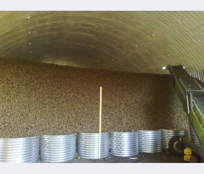 Order Warming by polyurethane foam granary (grain store)