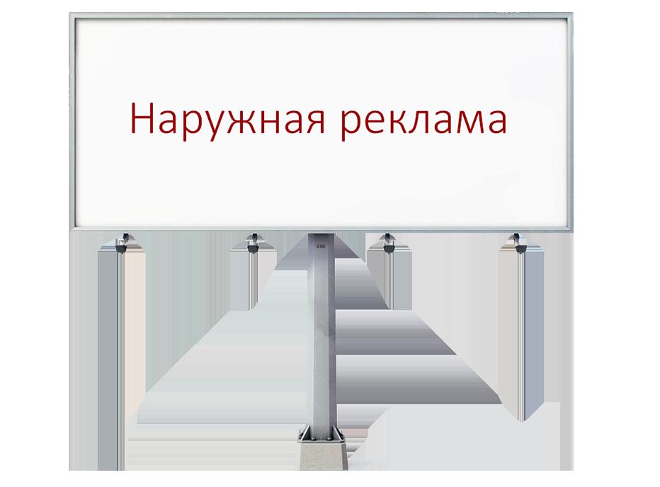 Дизайн наружной рекламы услуги