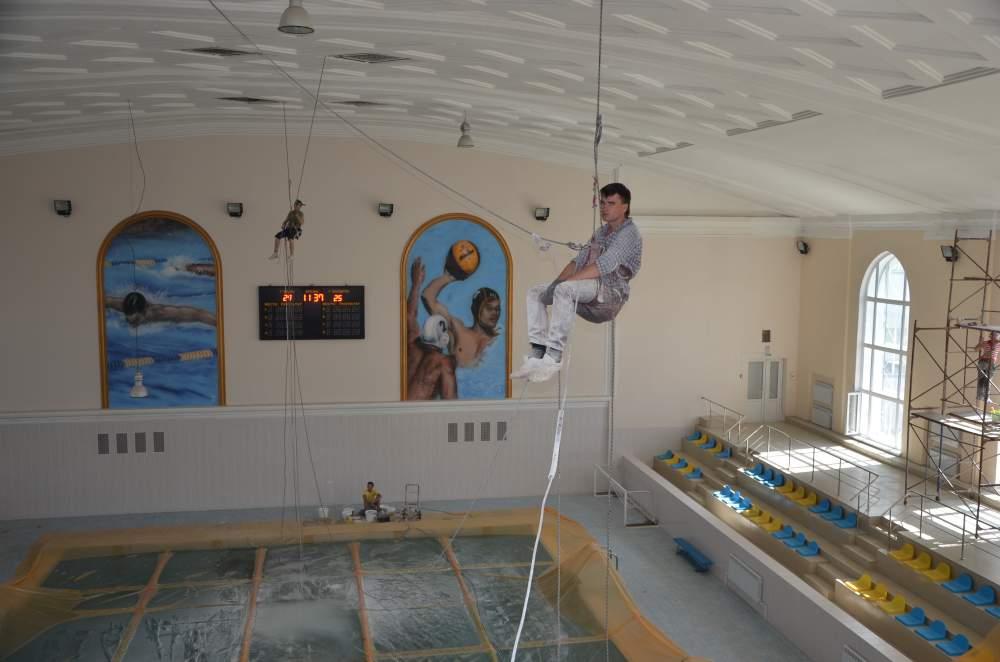 Coloring Of Ceilings Order In Karaganda
