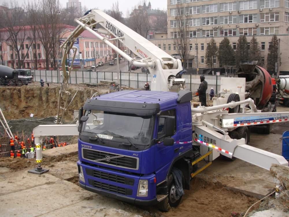 Заказать Аренда автобетононасоса в Алматы