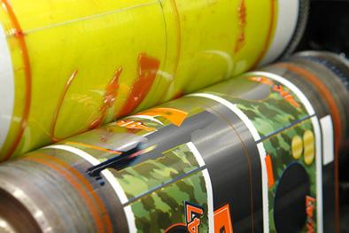 Заказать Печать флексографическая на гибкой упаковке