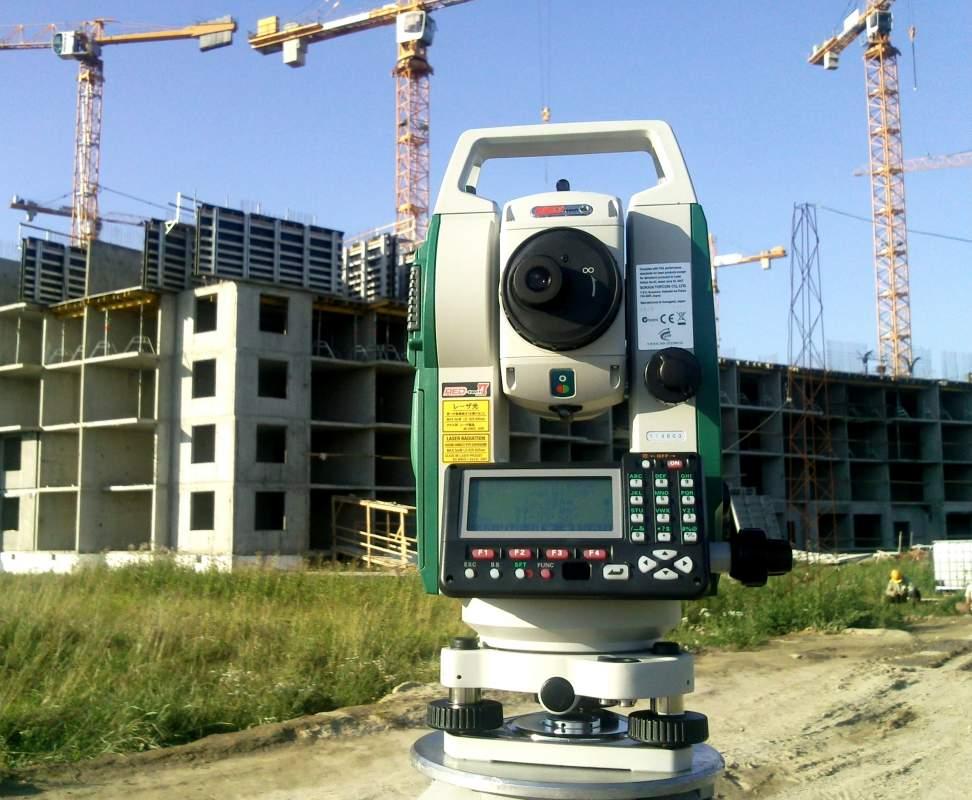 Заказать Разбивка под здания и сооружения при большом объеме работ в местной системе координат