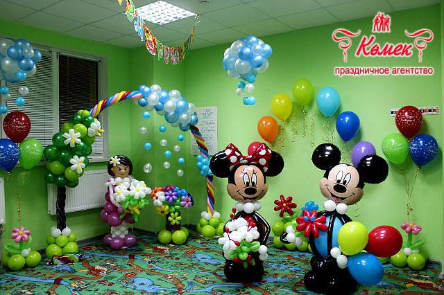 Воздушные шары украшение детского праздника
