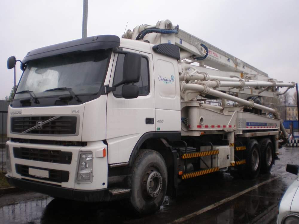 Заказать Аренда бетононасосов Volvo-XCMG