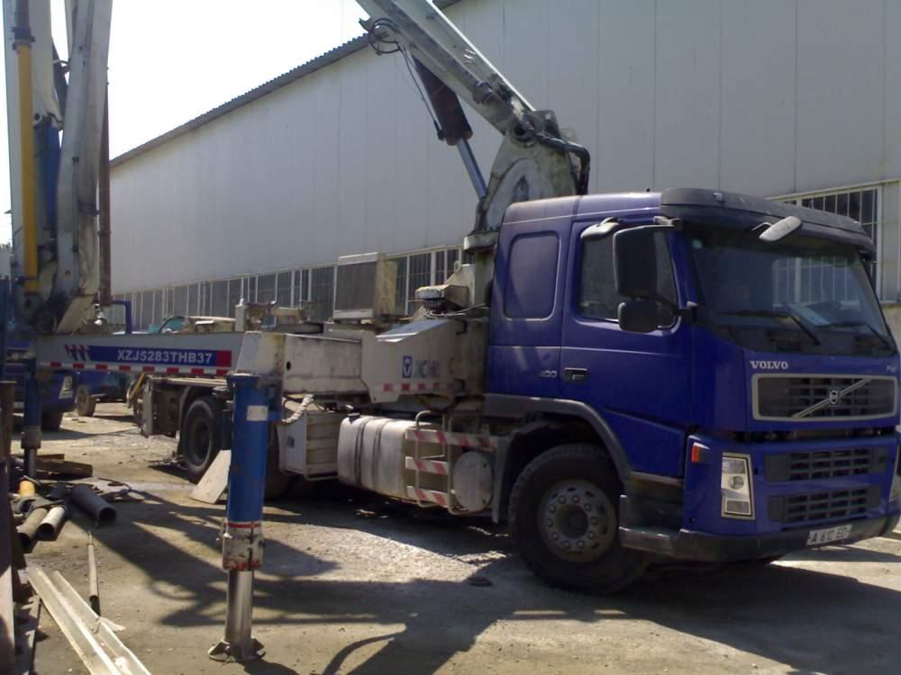 Заказать Аренда бетононасос Вольво-1