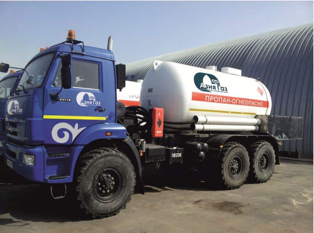 Заказать Транспортировка (доставка) сжиженного газа собственным автотранспортом.