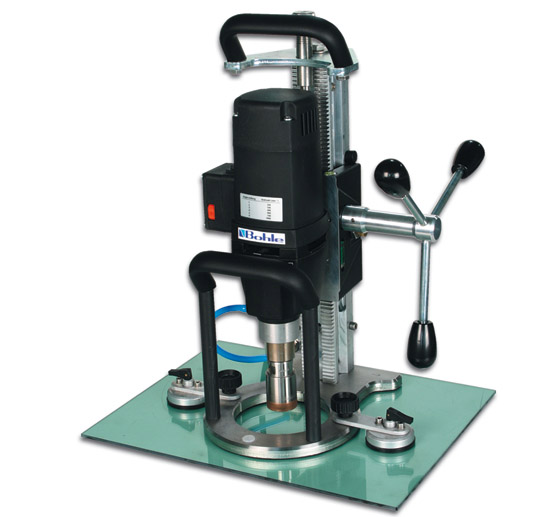 Order Drilling of openings in glass