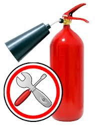 Order Absolut Security LLP, Recharge of fire extinguishers