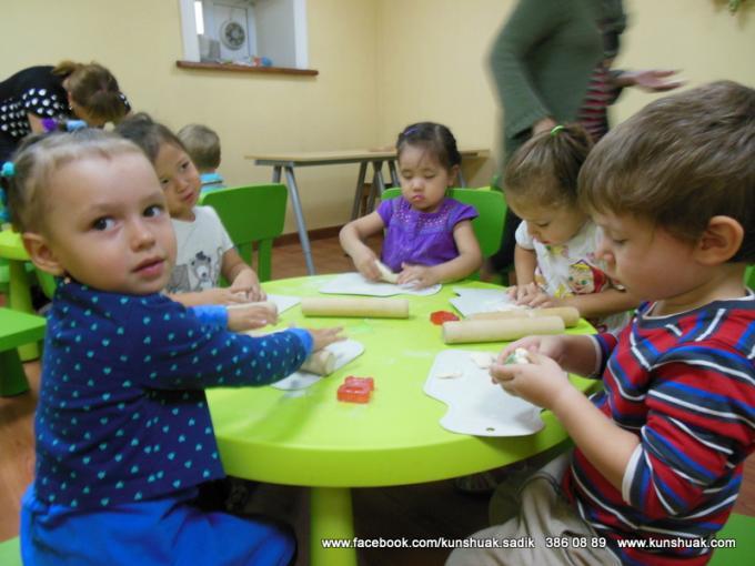 Order Services of the Kindergarten preschool institutions Kunshuak