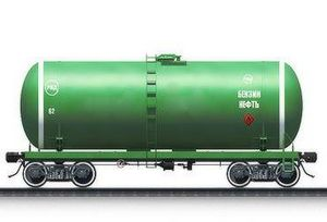Transportations of the liquefied hydrocarbonic gas by railway tanks