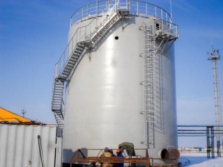 Заказать Монтаж вертикальных и горизонтальных стальных резервуаров