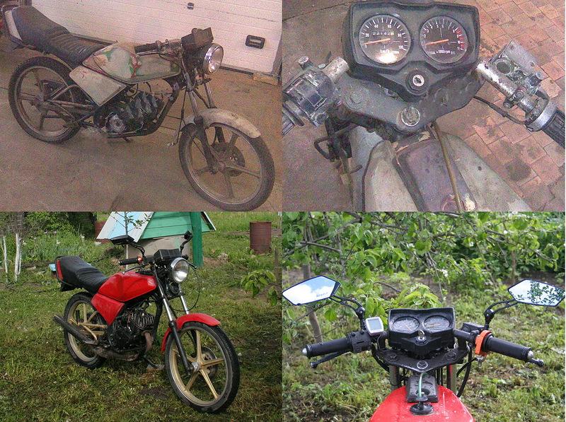 електропроводка мотоцикла ALPHA WELS ZS125-12