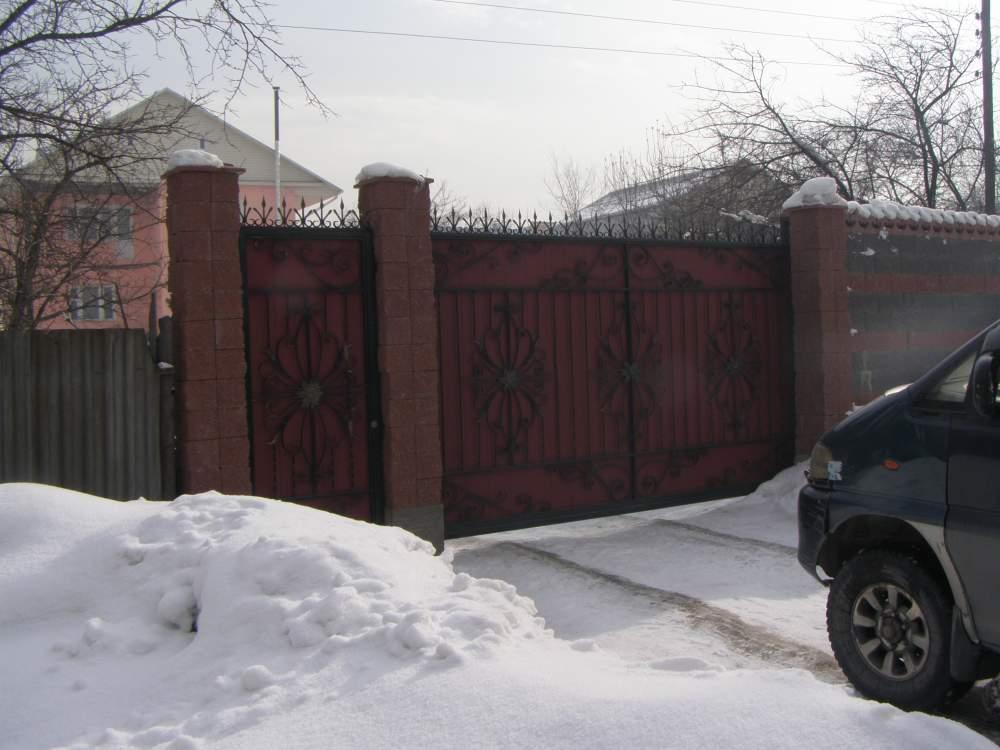 Заказать Ворота консольные