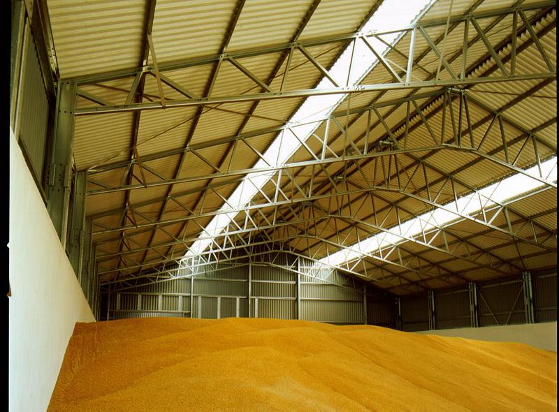 Ангар для хранения зерна