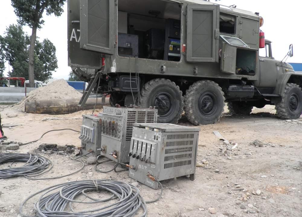Заказать Сварочный агрегат, Дизельный генератор, на базе ЗИЛ 131