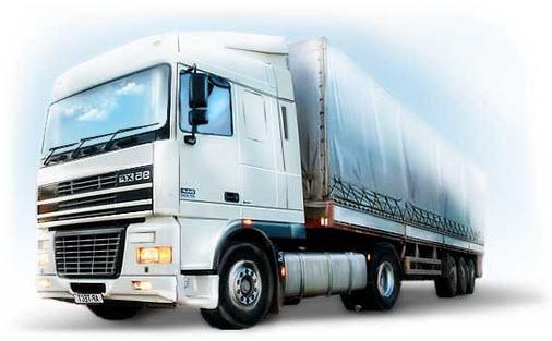 Order Transportations by motor transport, road haulage