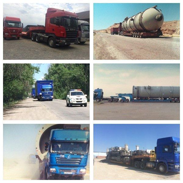 Заказать Перевозки негабаритных и сверхтяжелых грузов