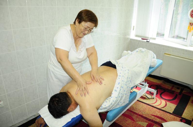 Заказать Лечебный массаж в санатории