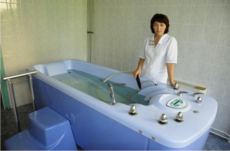 Medical bathtubs in sanatorium order in Alekseevka