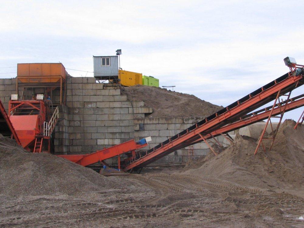 Заказать Пусконаладка заводов по промывке и просеиванию песка,установим завод по промывке