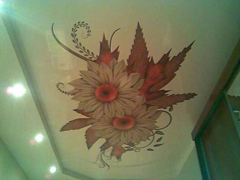 Заказать Наклейка фрески на потолок