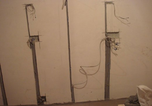 Order Shtrobleniye on concrete of walls, ceilings