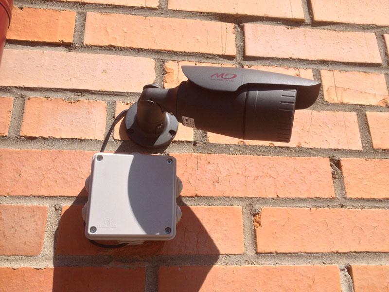 Order Installation, installation of video surveillance, video cameras