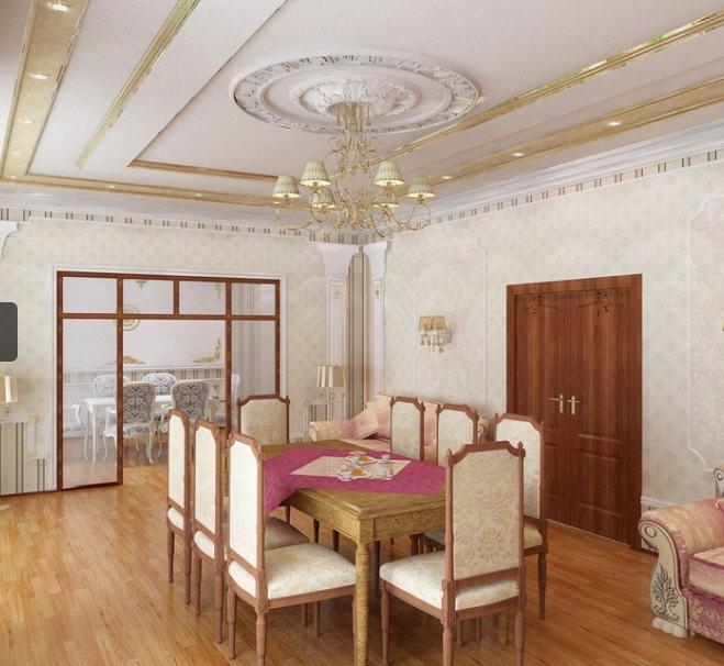 Дизайн дома на казахстане