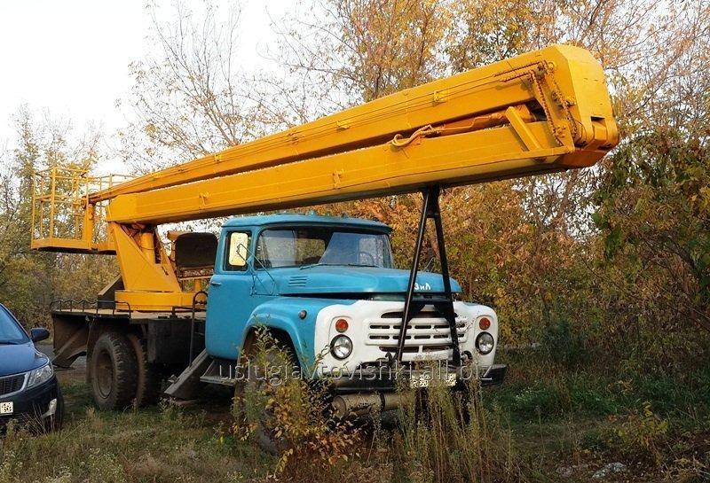 Заказать Услуги автовышки ЗиЛ 22 метра