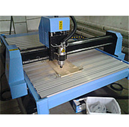 Order Setup of milling and engraving machines with ChPU