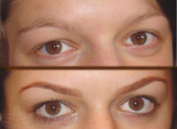 Correction of eyebrows, coloring, permanent make-up order in Almaty