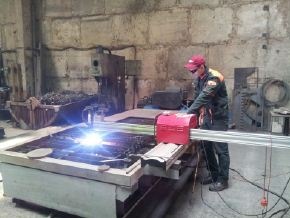 Order Production of non-standard spare parts according to drawings of the customer