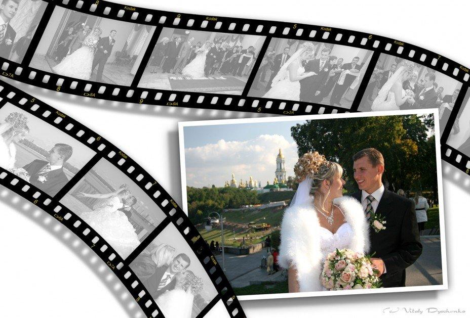 Как сделать слайд шоу из фотографий свадьбы