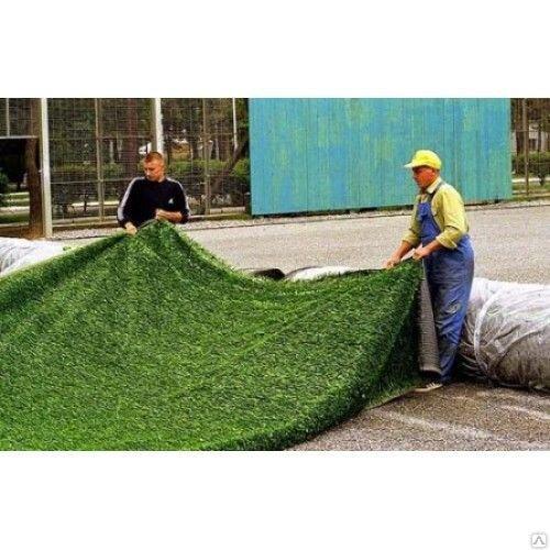 Укладка искусственного газона в алматы