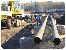 Заказать Строительство водопроводных и канализационных сетей