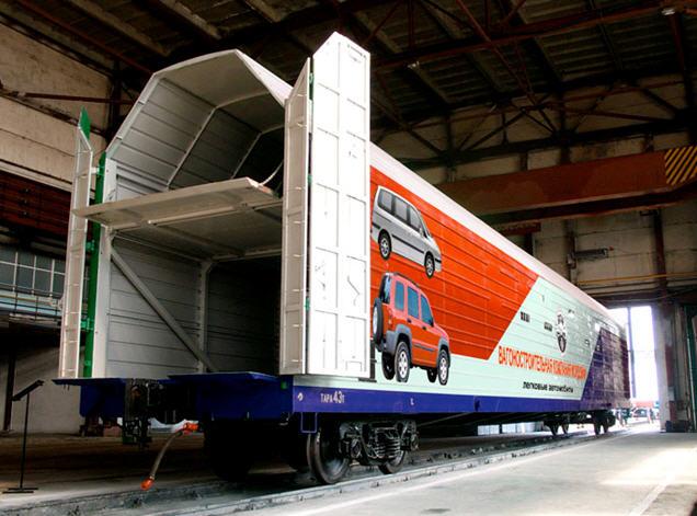 Заказать Ремонт вагонов специального назначения: автомобилевозы