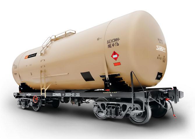Заказать Ремонт вагонов специального назначения: четырёхосные цистерны для перевозки бензина и светлых нефтепродуктов