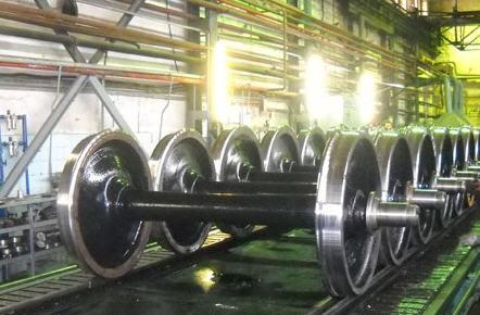 Заказать Заводской ремонт колёсных пар