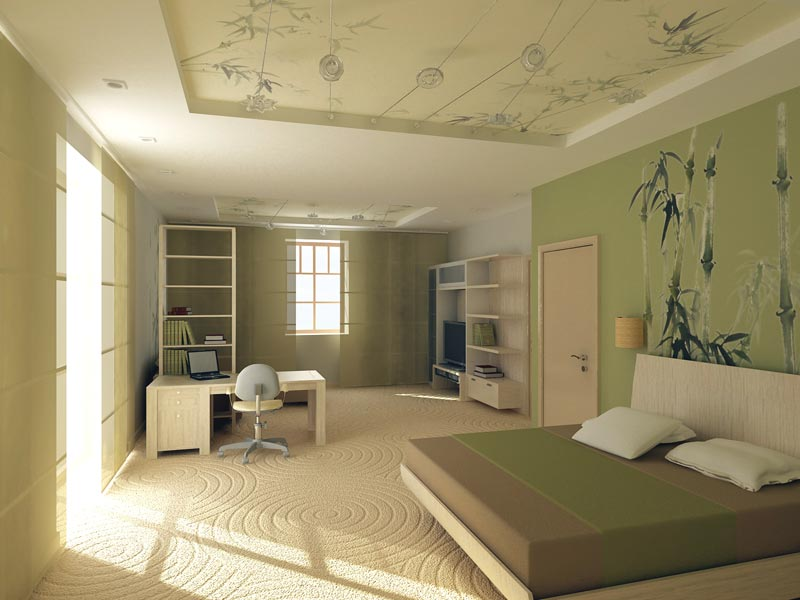 Outline design of interior design