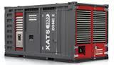 El alquiler del compresor con la tracción Atlas Copco XATS de Diesel 1020