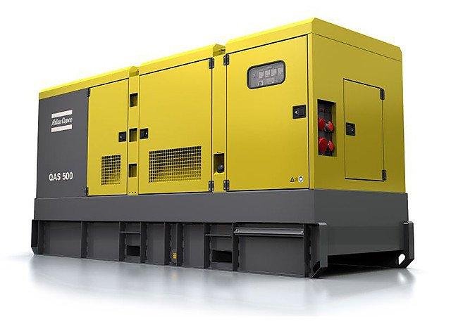 Аренда дизельной электростанции (генератора) Atlas Copco QAS 500