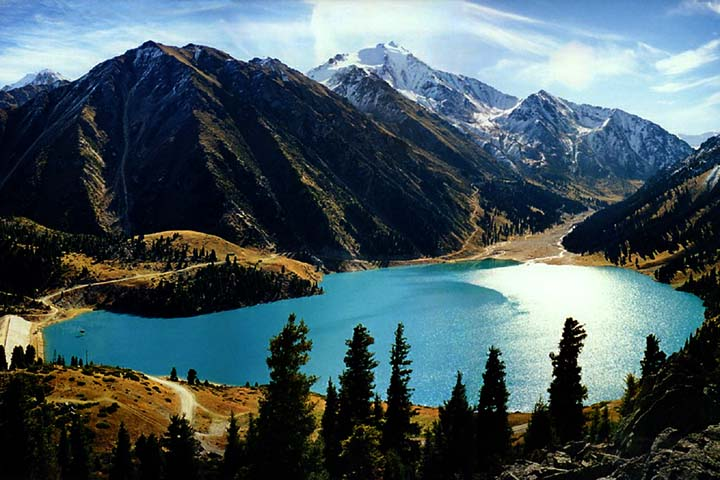 Заказать Тур по Казахстану Большое Алматинское озеро