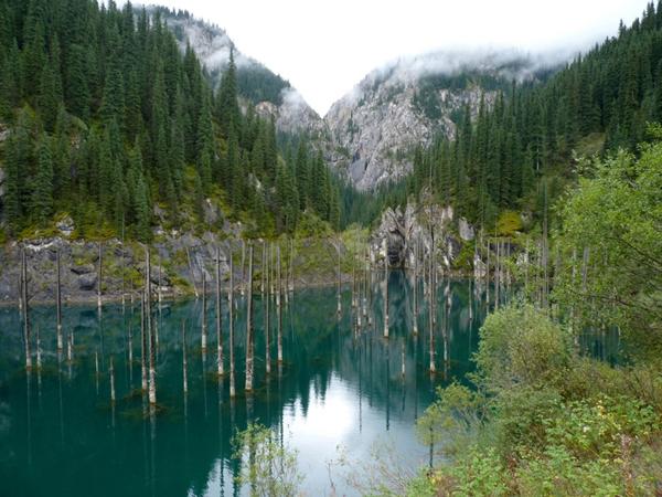 Заказать Тур по Казахстану Озеро Кайынды