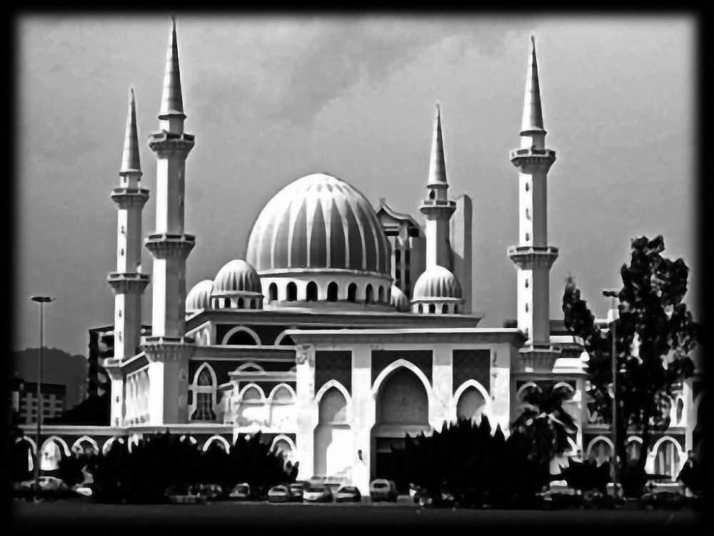 Заказать Гравировка на мраморе Мечеть