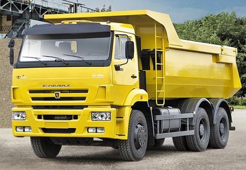 Order Transportation of loose freights on KamAZ