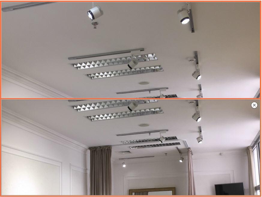 Освещение и световой дизайн в бутике Cherry Astana