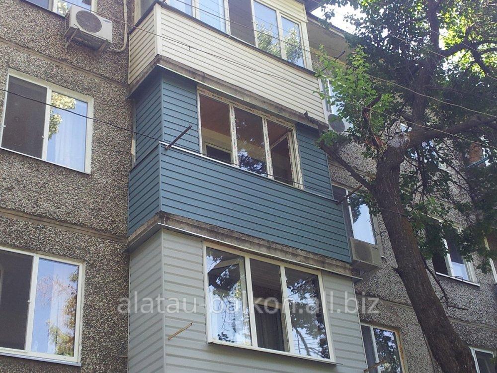 Ремонт балкона в алматы: 6603911 - окна, двери, балконы в ал.