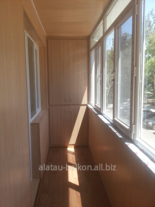Услуги по обшивке балконов заказать в алматы.