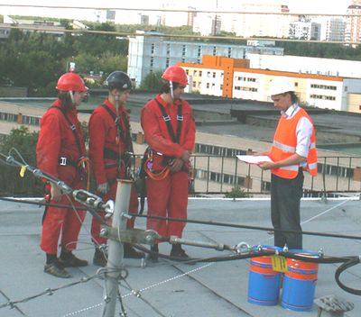 Order Briefings on labor protection and fire safety